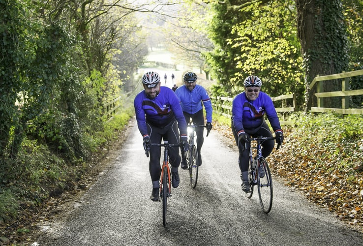 Ciclismo em grupo